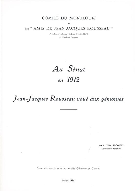 Rousseau Senat 1912